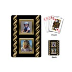 Black and Gold Mini Playing Cards - Playing Cards (Mini)