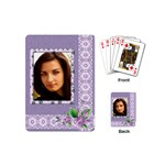 Shades of Violet Mini Playing Cards - Playing Cards (Mini)