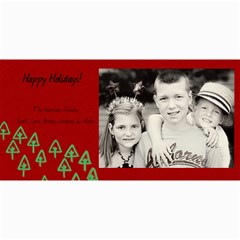 Christmas Card #2 By Lana Laflen   4  X 8  Photo Cards   Ybzopckyh6ft   Www Artscow Com 8 x4 Photo Card - 1