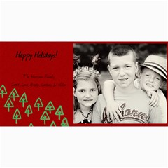 Christmas Card #2 By Lana Laflen   4  X 8  Photo Cards   Ybzopckyh6ft   Www Artscow Com 8 x4 Photo Card - 2