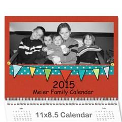 2015 Family Calendar By Martha Meier   Wall Calendar 11  X 8 5  (12 Months)   Fjkakr38a5f7   Www Artscow Com Cover