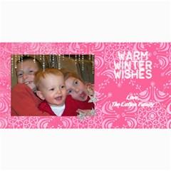 Winter Card By Lana Laflen   4  X 8  Photo Cards   0z9wu18ykqsu   Www Artscow Com 8 x4 Photo Card - 8