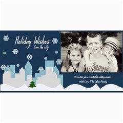 Holiday Wishes Card By Lana Laflen   4  X 8  Photo Cards   Eroulr1uuxam   Www Artscow Com 8 x4 Photo Card - 1
