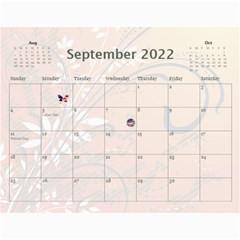 2015 Any Occassion Calendar By Kim Blair   Wall Calendar 11  X 8 5  (12 Months)   93b3al004g2c   Www Artscow Com Sep 2015