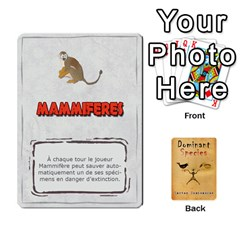 Dominant Species Vf By Ndeclochez   Playing Cards 54 Designs   Kwd27z82bvf0   Www Artscow Com Front - Diamond9