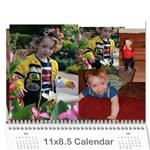 calandar - Wall Calendar 11  x 8.5  (12-Months)