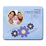 Serenity Blue Large Mousepad