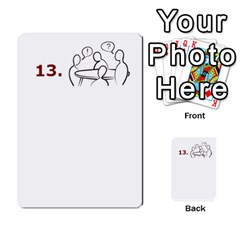 Tabletalk Cards By Lthiessen   Multi Purpose Cards (rectangle)   Zo72vcnubbf5   Www Artscow Com Front 50