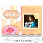 2015 memory  calendar - Wall Calendar 11  x 8.5  (12-Months)