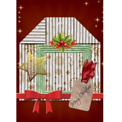 Christmas Card By Joely   Greeting Card 5  X 7    4tk9b2c233xi   Www Artscow Com Front Cover