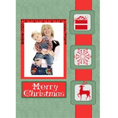 Christmas Card By Joely   Greeting Card 5  X 7    Ibu1hy2z8g4v   Www Artscow Com Front Cover