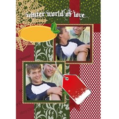 Christmas Card By Joely   Greeting Card 5  X 7    Qeral4ybf7cu   Www Artscow Com Front Cover