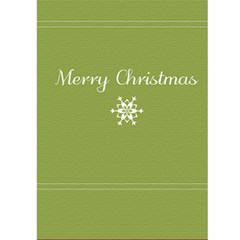 Christmas Card By Joely   Greeting Card 5  X 7    Zosasj3erk3r   Www Artscow Com Front Inside