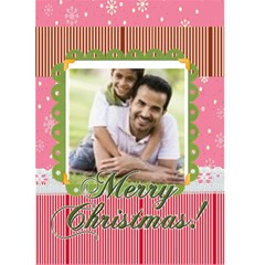 Christmas Card By Joely   Greeting Card 5  X 7    Xkq059s1ook6   Www Artscow Com Front Cover