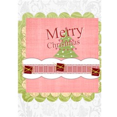 Christmas Card By Joely   Greeting Card 5  X 7    Bxcea4jha97k   Www Artscow Com Back Cover