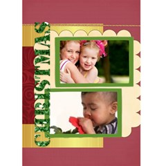 Christmas Card By Joely   Greeting Card 5  X 7    Htsjvzsdp28b   Www Artscow Com Front Cover