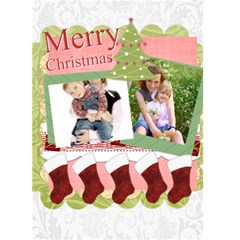 Christmas Card By Joely   Greeting Card 5  X 7    Pbn4jfh7gmi3   Www Artscow Com Front Cover