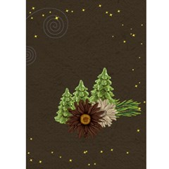 Christmas Card By Joely   Greeting Card 5  X 7    25u3esx8xgbw   Www Artscow Com Back Cover