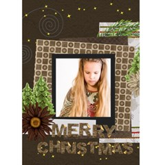 Christmas Card By Joely   Greeting Card 5  X 7    25u3esx8xgbw   Www Artscow Com Front Cover