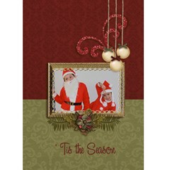 Greeting Card 5  X 7     tis The Season By Jennyl   Greeting Card 5  X 7    Wn7wjw0bdsmp   Www Artscow Com Front Cover