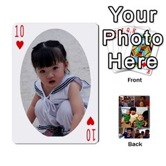 Daddy Cards By Jas   Playing Cards 54 Designs   Xonnja7d0zt5   Www Artscow Com Front - Heart10