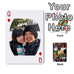 Queen Daddy Cards By Jas   Playing Cards 54 Designs   Xonnja7d0zt5   Www Artscow Com Front - DiamondQ