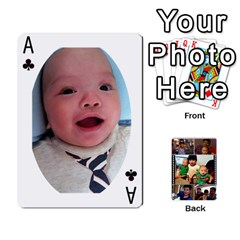 Ace Daddy Cards By Jas   Playing Cards 54 Designs   Xonnja7d0zt5   Www Artscow Com Front - ClubA