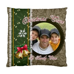 Christmas By Joely   Standard Cushion Case (two Sides)   Rorykk5q38oq   Www Artscow Com Front