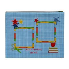 Cosmetic Bag (xl) : Back To School 12 By Jennyl   Cosmetic Bag (xl)   5yld35ovifst   Www Artscow Com Back