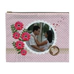 Cosmetic Bag (XL): Lover s lane
