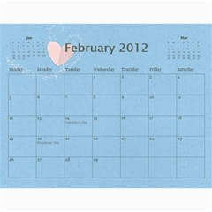 Calendar Yasen 2012 By Boryana Mihaylova   Wall Calendar 11  X 8 5  (12 Months)   Ii0kkw3u46xv   Www Artscow Com Feb 2012