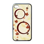 Autumn Apple iPhone 4 Case - Apple iPhone 4 Case (Black)