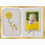 Pretty Yellow Floral 5x7 Photo Card - 5  x 7  Photo Cards