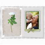 Pretty White Floral 5x7 Photo Card - 5  x 7  Photo Cards