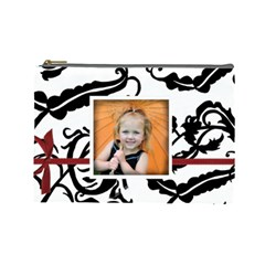 Large Cosmetic Bag By Amanda Bunn By Amanda Bunn   Cosmetic Bag (large)   Ofbut384w8eb   Www Artscow Com Front