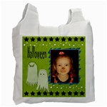 Halloween Ghost Bag - Recycle Bag (One Side)