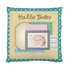 Hello Baby By Joely   Standard Cushion Case (two Sides)   J4qq34h6t5gv   Www Artscow Com Back