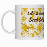 artistic - coffee mug - White Mug