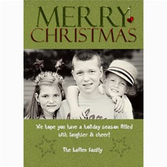Christmas Card By Lana Laflen   5  X 7  Photo Cards   H2e2q5phasop   Www Artscow Com 7 x5 Photo Card - 1