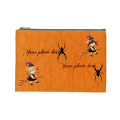 Halloween Cosmetic Bag (l) By Elena Petrova   Cosmetic Bag (large)   2n9ok8k1l4vr   Www Artscow Com Front