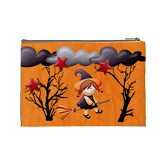 Halloween Cosmetic Bag (l) By Elena Petrova   Cosmetic Bag (large)   2n9ok8k1l4vr   Www Artscow Com Back