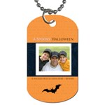 halloween - Dog Tag (One Side)