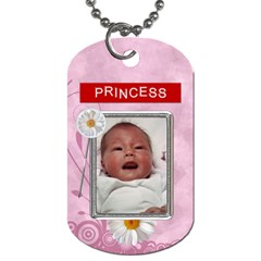 Its A Girl 2 Sided Dog Tag By Lil    Dog Tag (two Sides)   636es2v9acwc   Www Artscow Com Back