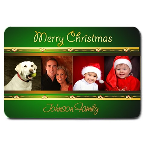Green Large Christmas Door Mat By Deborah   Large Doormat   Fggic02dj0e1   Www Artscow Com 30 x20 Door Mat - 1