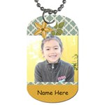 Dog Tag (Two Sides): Simple Joys2