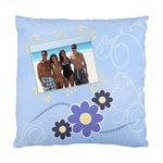 Serenity Blue Cushion Case (2xSides) - Standard Cushion Case (Two Sides)