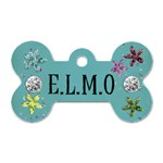 elmo - Dog Tag Bone (Two Sides)