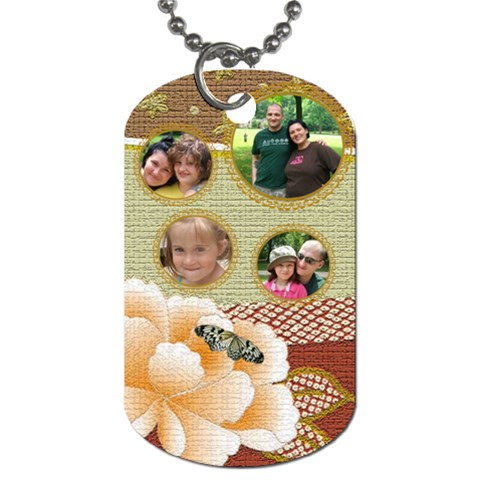 Grandmothers Dogtag By Jolene   Dog Tag (one Side)   6ixw63bj7ej4   Www Artscow Com Front