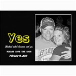 5x7 Save the Date Card - 5  x 7  Photo Cards