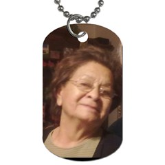 Mom 2 By Maryalice   Dog Tag (two Sides)   5kz9xfpp34nb   Www Artscow Com Front